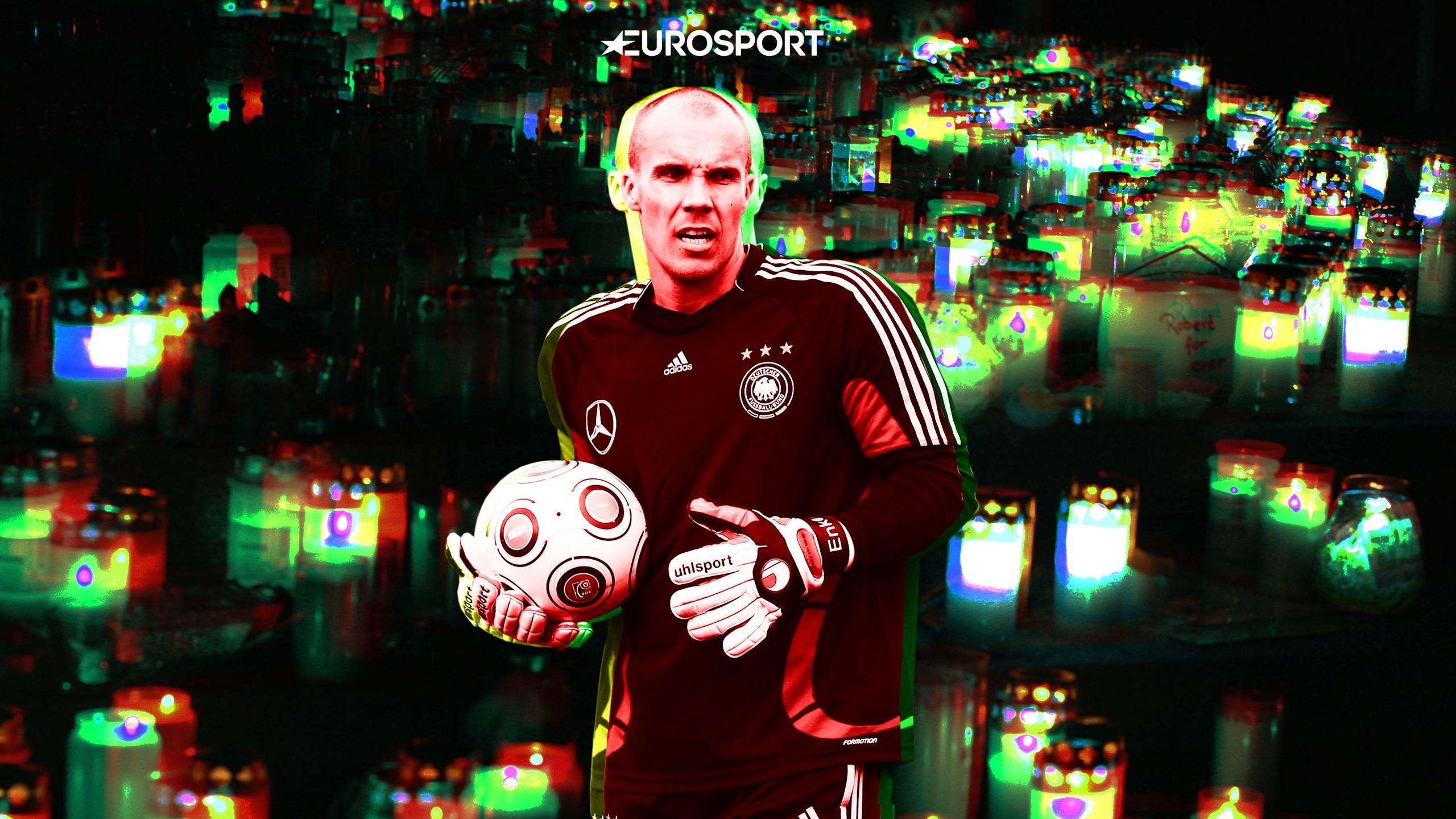 Немецкий футболист бросился под поезд