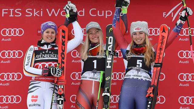 Shiffrin retains Alpine World Cup title