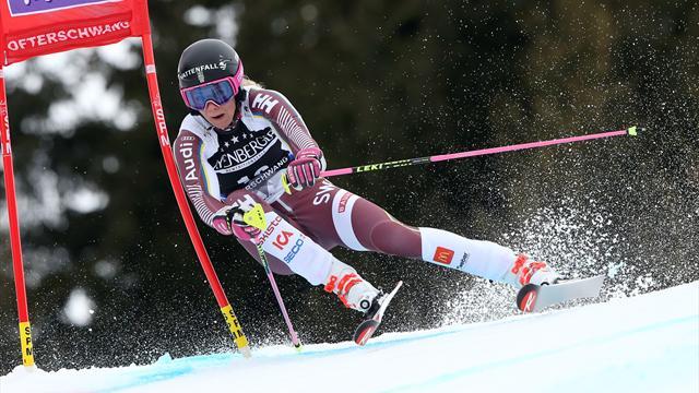 Hansdotter sexa i första tävlingen efter OS