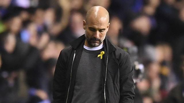 Guardiola frustrated by Man City's