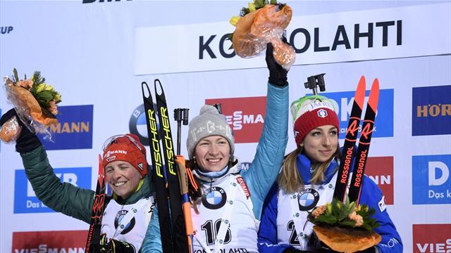 Holmenkollen: Předposlední podnik SP v biatlonu