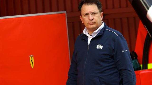 Tombazis est impressionné par Ferrari