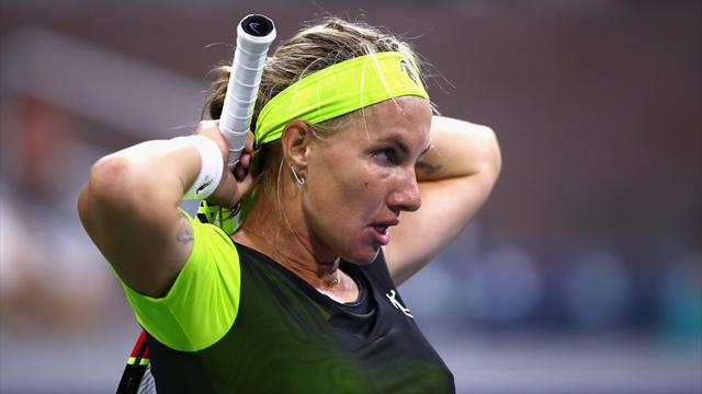 Кузнецова проиграла Соболенко в первом матче после восстановления