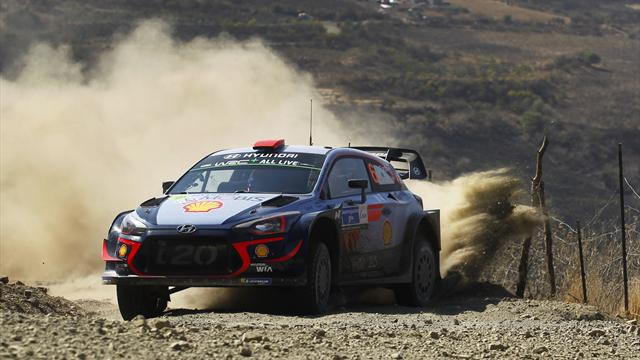 Sordo leads, Loeb third in Mexico