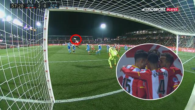 Highlights: Girona slår nedrykningstruede Deportivo!