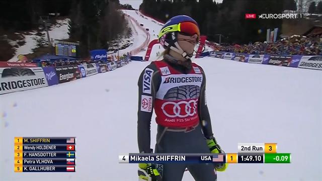 Mikaela Shiffrin trionfa a Ofterschwang: quinta coppa di specialità nello slalom