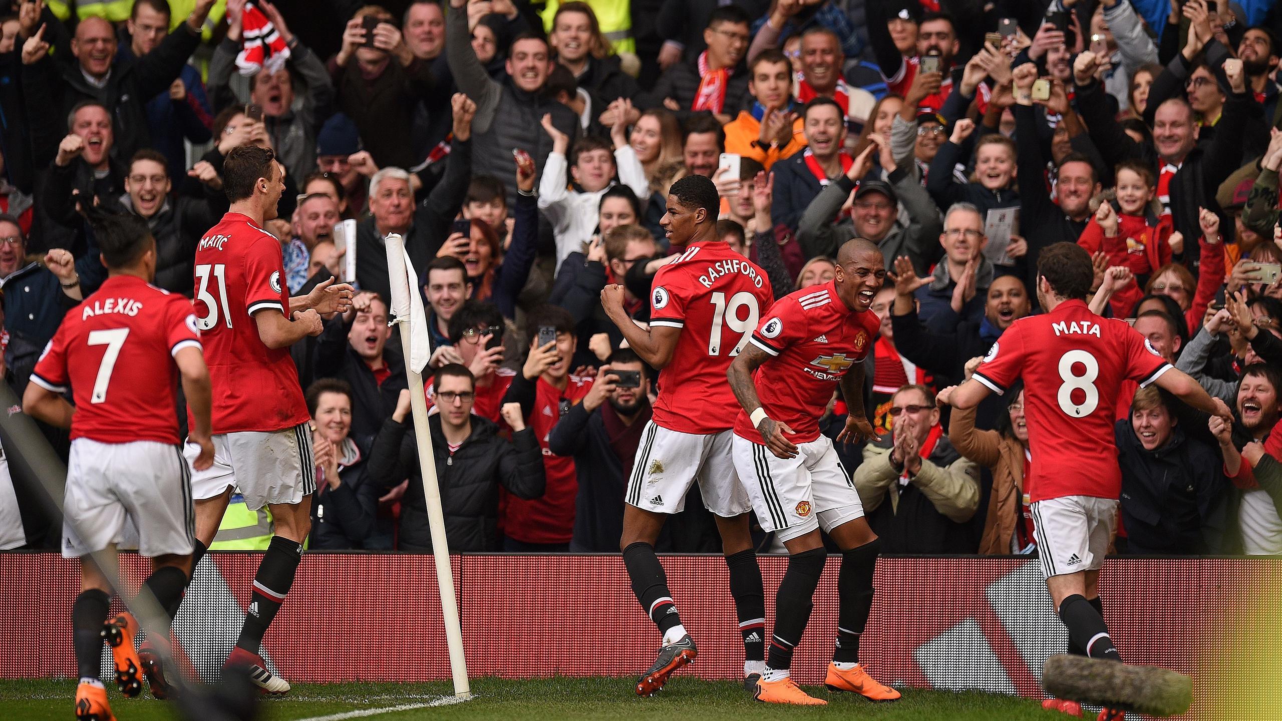 Marcus Rashford Brace Downs Liverpool As Manchester United Tighten Grip On Second Eurosport