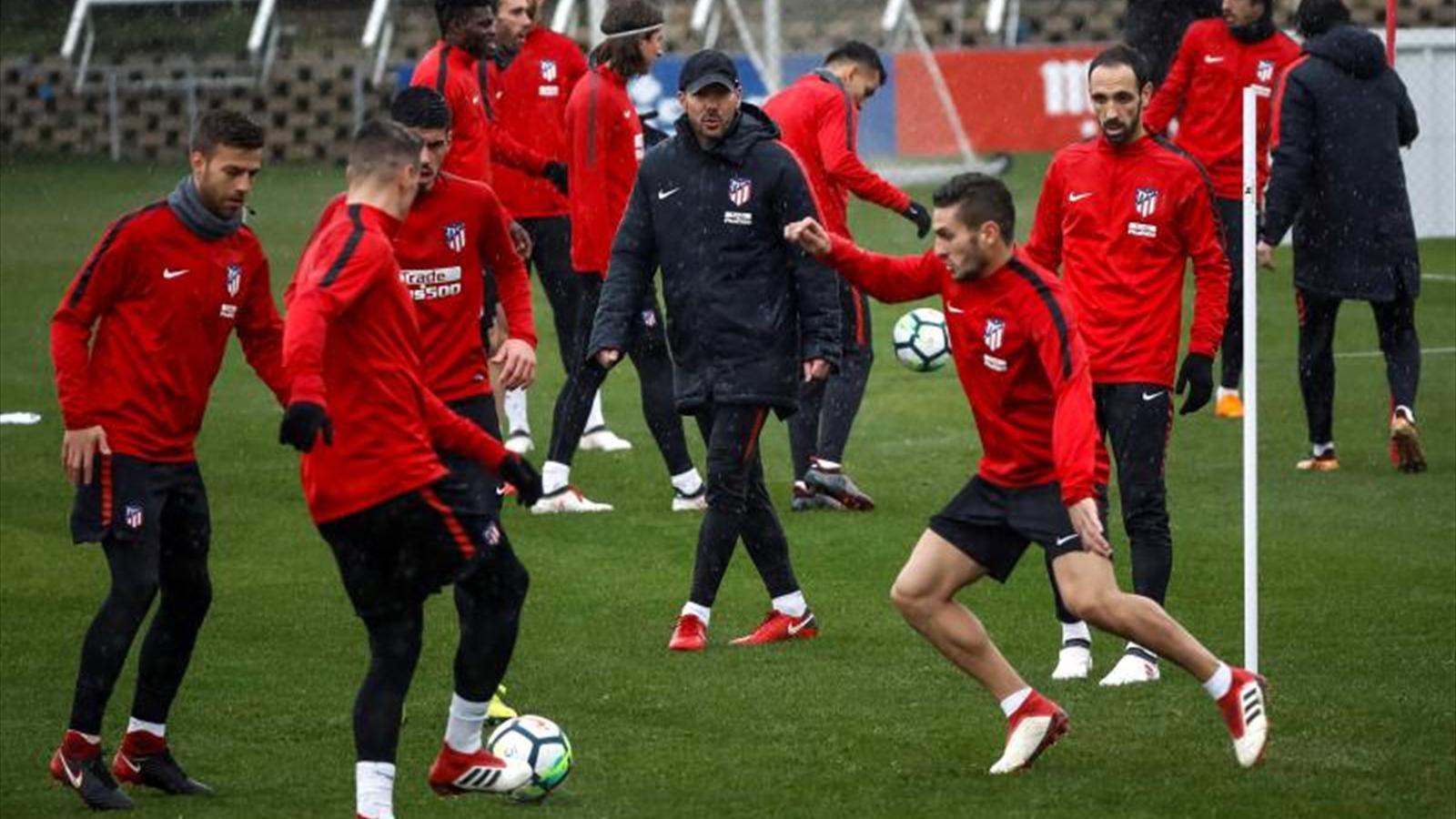 El Atlético frente al Celta, con Oblak y la intención de reanudar la ...
