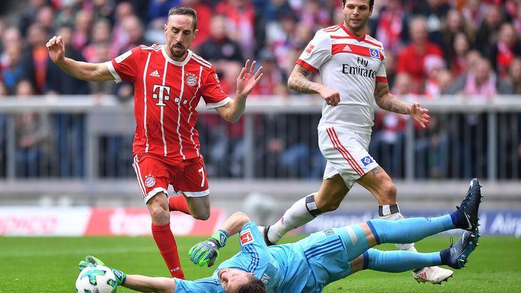 Футбол германия бундеслига бавария гамбург