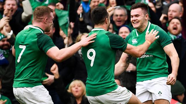 Irlanda acaba con el dominio de Inglaterra y se proclama campeona del Seis Naciones