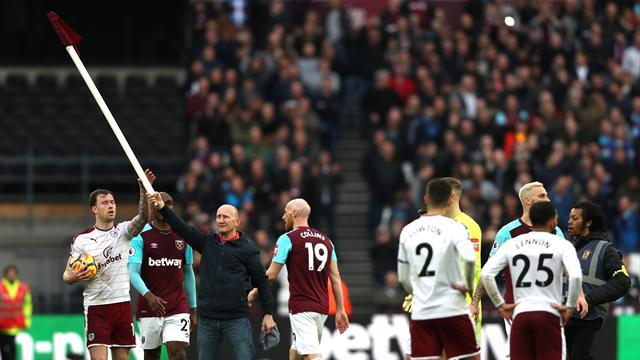 West Ham a picco, tifosi invadono campo
