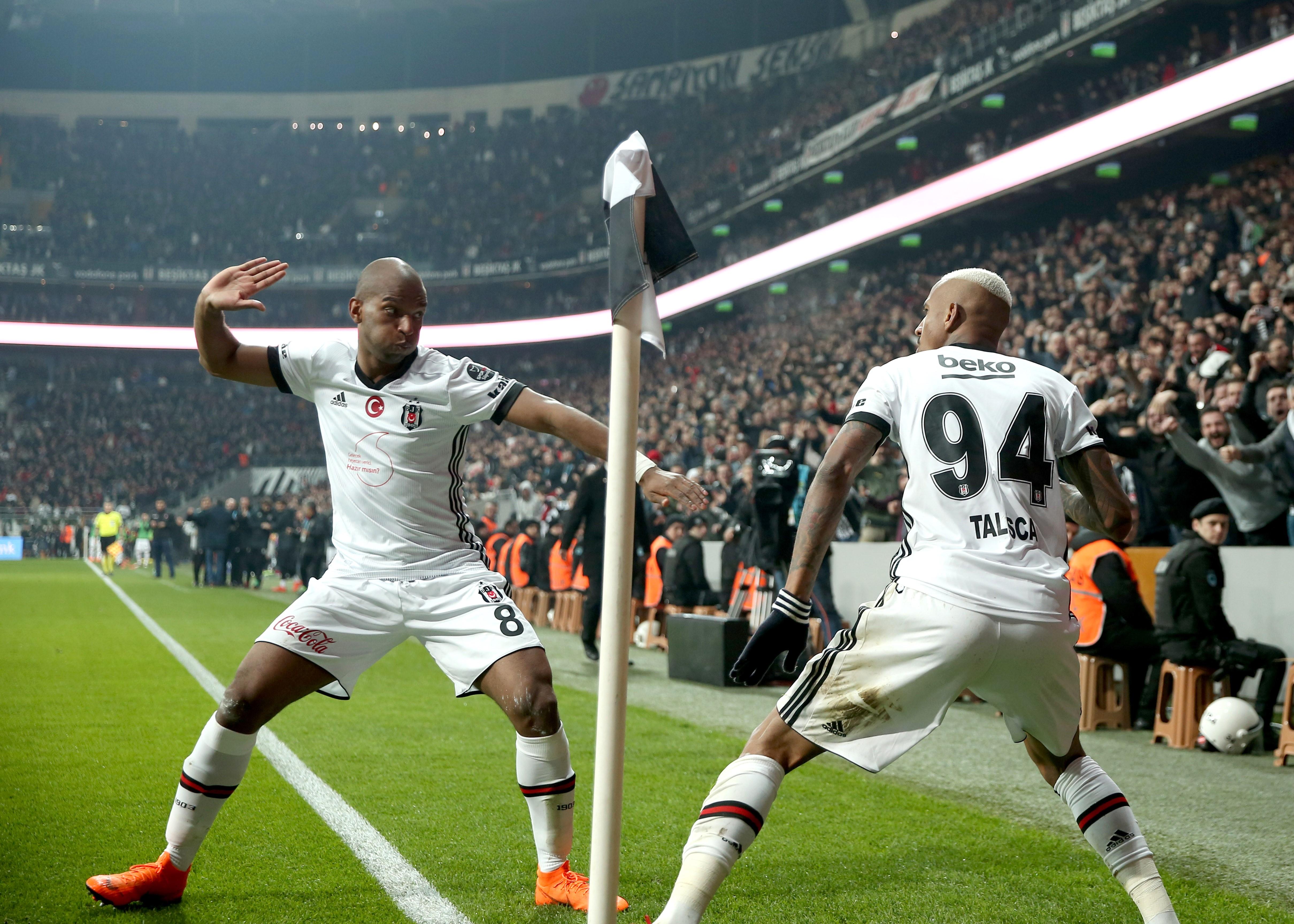 Beşiktaş, Ryan Babel ve Anderson Talisca