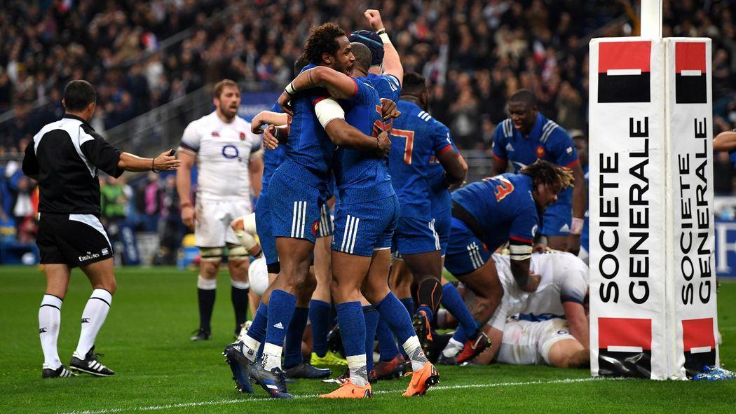 d97c16b438f France beat uninspired England, Ireland win Six Nations title - Six Nations  2018 - Rugby - Eurosport UK