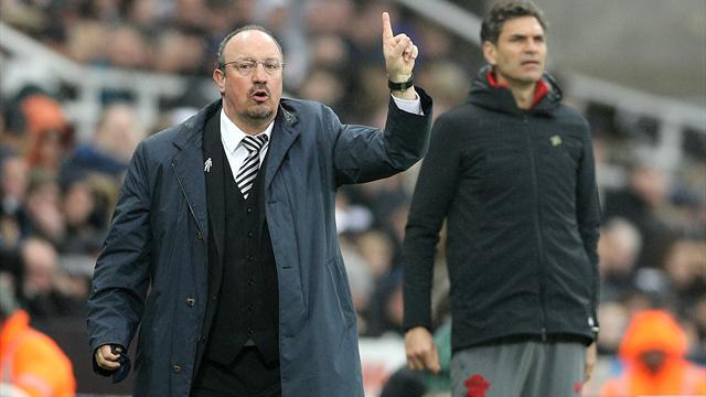 Rafael Benitez seemingly takes a dig at Aleksandar Mitrovic