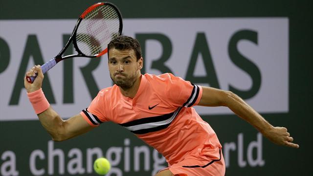 Federer doit patienter, Dimitrov déjà dehors !
