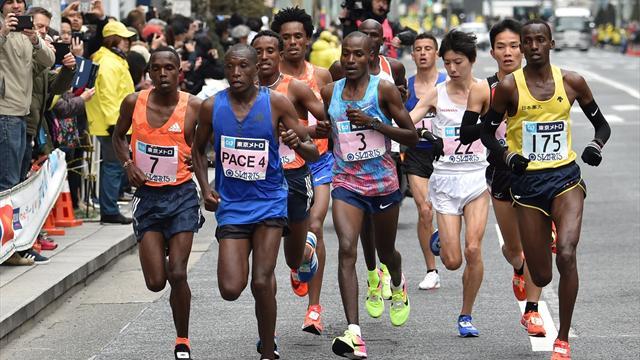 """Un marathon potentiellement """"mortel"""" en raison de la chaleur"""