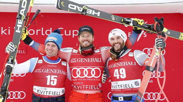 Jansrud wins super-G to secure World Cup discipline title