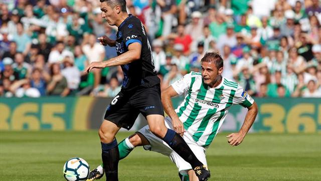 Sin Guardado, Betis derrota al Alavés