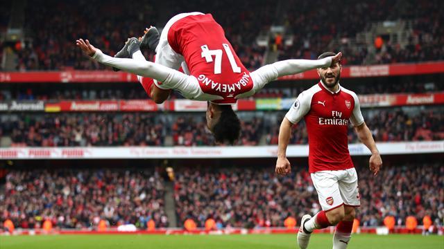 Highlights: Mkhitaryan og Aubameyang med mål i solid Arsenal-sejr!