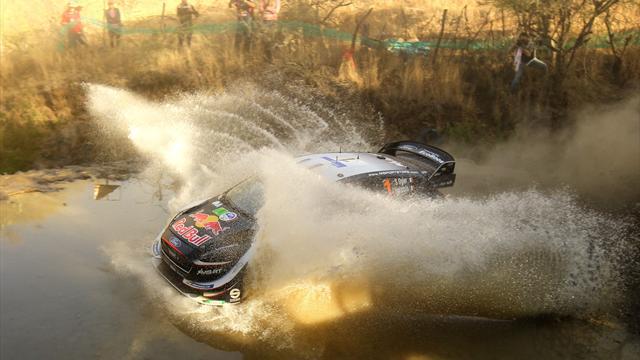Ogier nach Sieg bei Rallye Mexiko wieder WM-Spitzenreiter