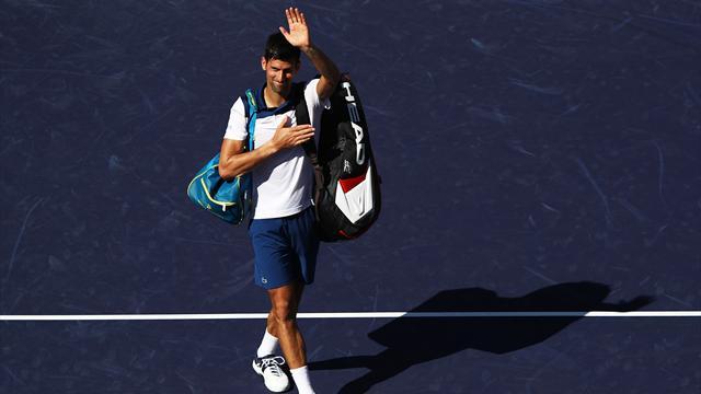 Djokovic, retour perdant, retour inquiétant