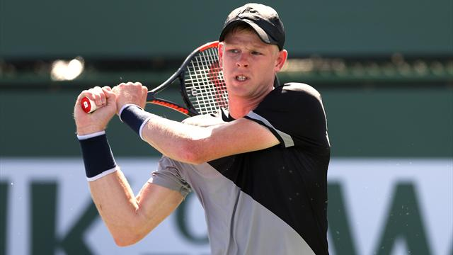 Kyle Edmund knocked out by Dudi Sela in Indian Wells