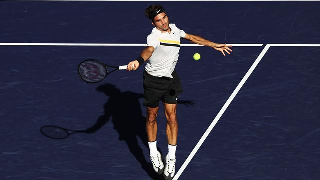 Federer siegt nach Regenpause