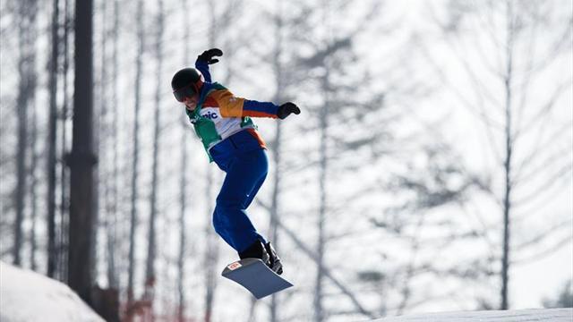 Juegos Paralímpicos: Astrid Fina, medalla de bronce en Snowboard Cross