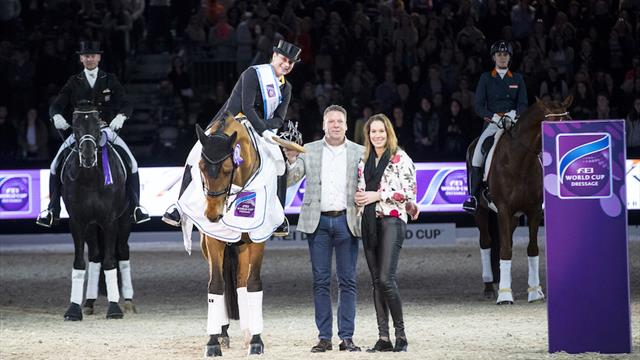Werth wins at Dutch Masters, Britain's Faurie grabs spot in 2018 World Cup Dressage Final