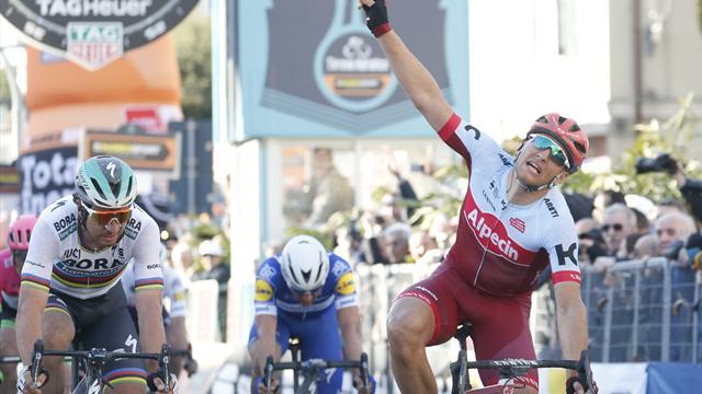 Kittel edges out Sagan to win Stage 6, Kwiatkowski retains overall lead