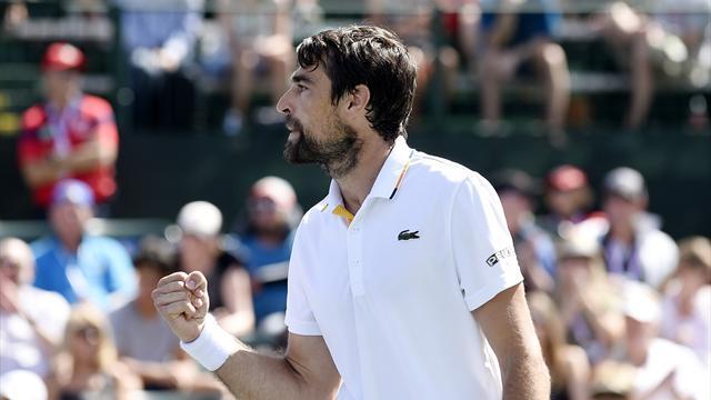 Chardy s'offre Mannarino et un duel face à Federer