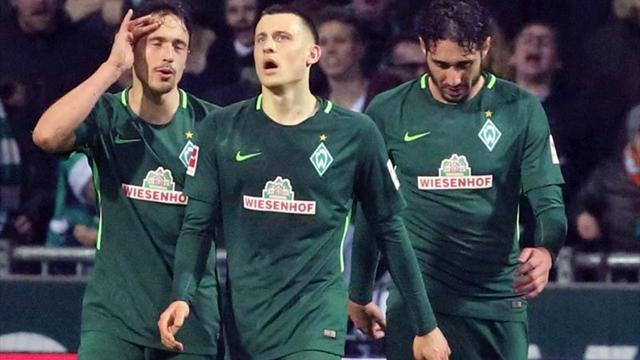 Werder Bremen se aleja de zona de descenso con triunfo ante Colonia