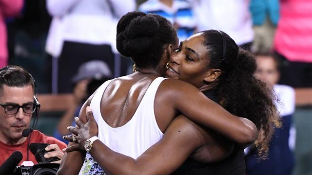 Venus Williams, sin piedad de su hermana Serena pasa a octavos en Indian Wells