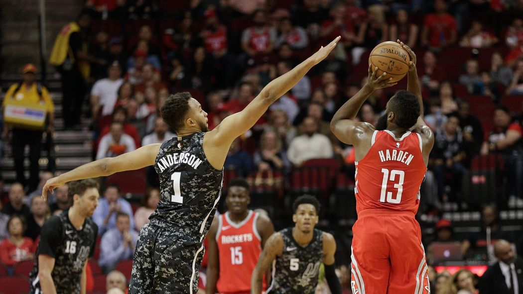 af5948c17 Houston Rockets down San Antonio Spurs