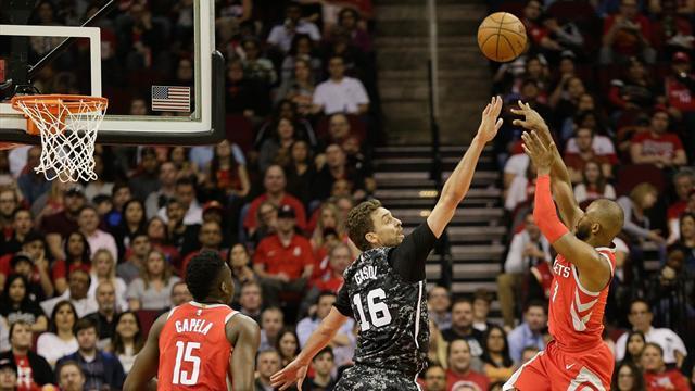 Los Spurs siguen en caída libre: Derrota ante Houston y fuera de los playoffs (109-93)