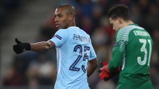 Fernandinho: City won't ease up until the title is won