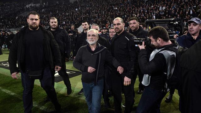 Le football grec «au bord du précipice» selon la FIFA