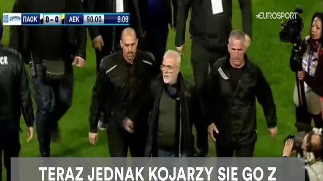 Milioner, przyjaciel Putina, furiat. Kim jest uzbrojony prezes PAOK-u?