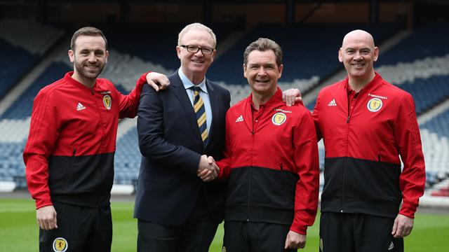 Peter Grant happy to get his hands dirty on Alex McLeish's Scotland staff
