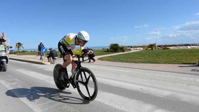 Tirreno-Adriático: Rohan Dennis repite triunfo en la contrarreloj final