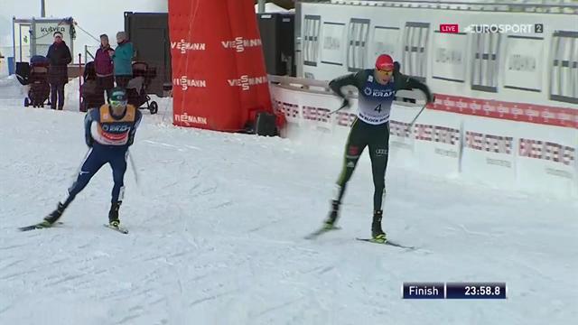 Eric Frenzel batte Watabe: terzo successo consecutivo a Trondheim