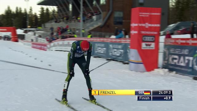 Frenzel beats World Cup leader Watabe in Trondheim