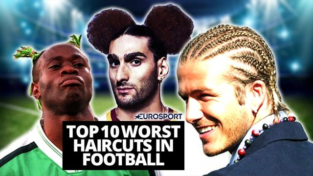 Top 10: Worst haircuts in modern football