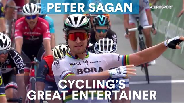Peter Sagan: Cycling's great entertainer