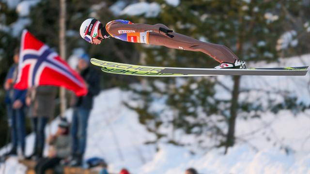 Poland's Stoch extends lead in ski jumping World Cup