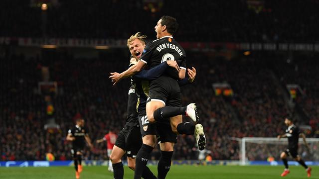 Champions (Octavos, vuelta), United-Sevilla: El arte de su fútbol no tiene rival (1-2, global 1-2)