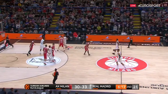 Highlights: AX Armani Exchange Milano-Real Madrid 77-88