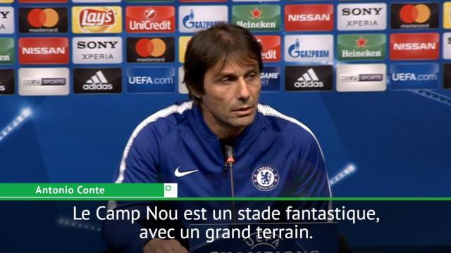 """8es - Conte: """"Excitant de jouer au Camp Nou"""""""