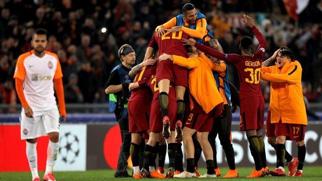 La Roma non fa la stupida! 1-0 allo Shakhtar, Dzeko manda ai quarti i giallorossi