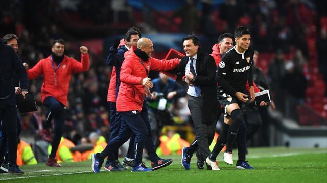 Montella fa lo scherzetto a Mourinho: il Siviglia batte 2-1 lo United e vola ai quarti di Champions
